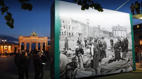 Feierlichkeiten zum Kriegsende in Berlin (2015)