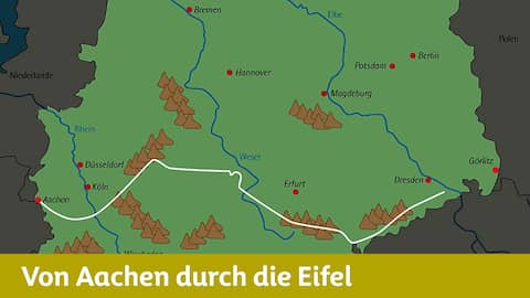 Wanderweg der deutschen Einheit, Teil 1