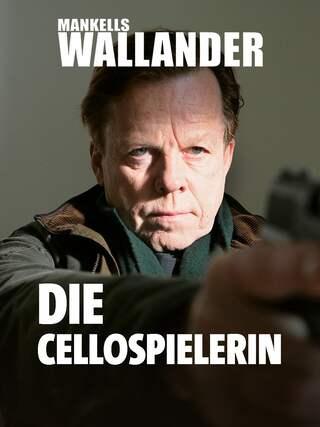 Wallander hält eine Waffe.