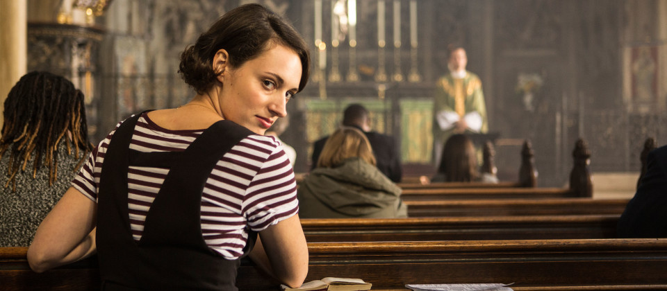 Fleabag (Phoebe Waller-Bridge) und The Priest (Andrew Scott).