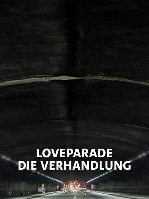 Der Tunnel durch den die Besucher der Loveparade 2010 mussten. In seiner Mitte schwenkte eine Rampe ab, auf der es zur Massenpanik kam.