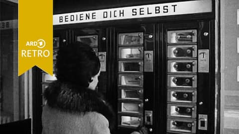 ARD Retro Wirtschaft: Selbstbedienungs-Automat