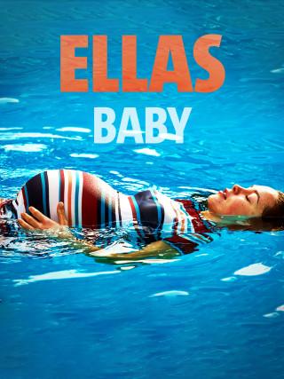 Die schwangere Ella (Tijan Marei) schwimmt auf dem Rücken