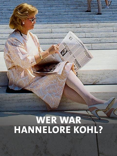 """Doku-Poster """"Wer war Hannelore Kohl?"""""""