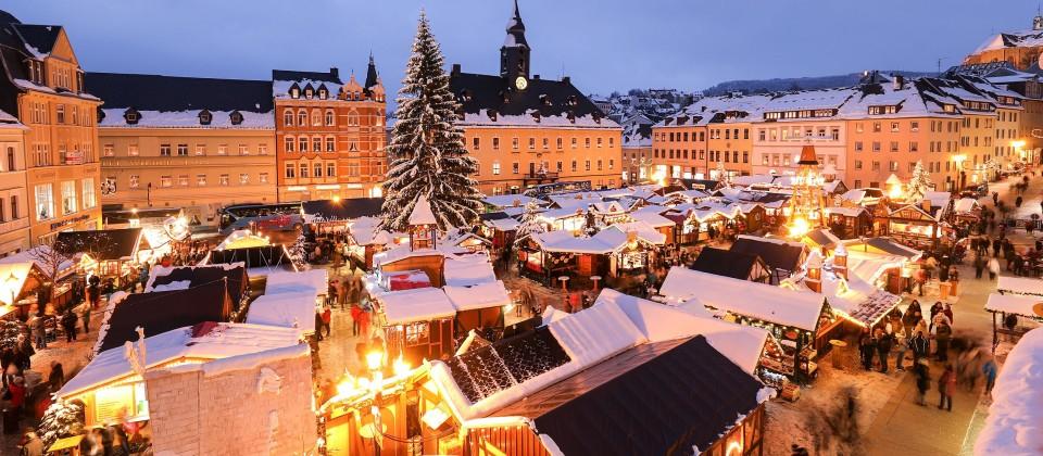 Weihnachtmarkt von Annaberg-Buchholz
