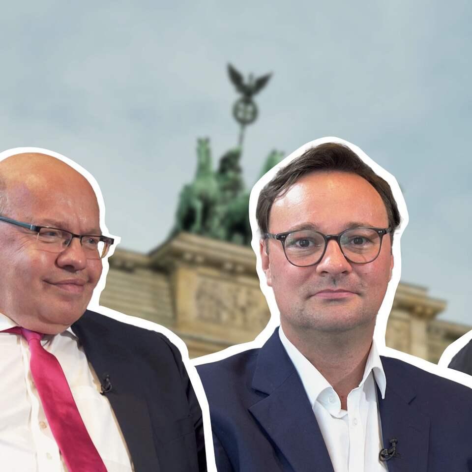 Luksic, Altmaier, Petry