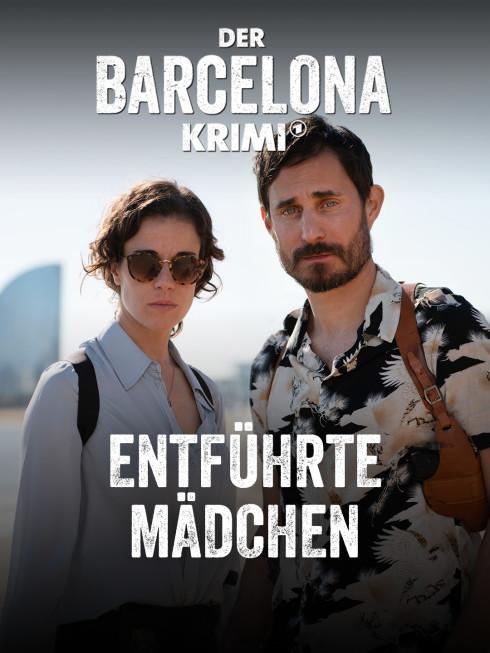 Polizisten Frau und Mann am Meer Spanien