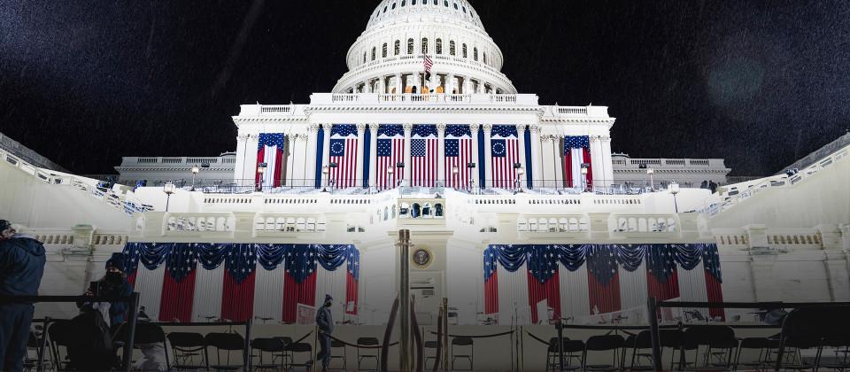Inauguration von Joe Biden in Washington