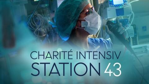 Logo: Charité intensiv: Station 43 (Quelle: rbb)