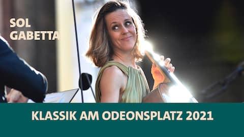 Sol Gabetta bei Klassik am Odeonsplatz 2021