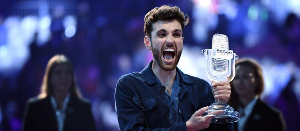 19.05.2019, Israel, Tel Aviv: Duncan Laurence aus den Niederlanden, Gewinner des Eurovision Song Contest (ESC) 2019