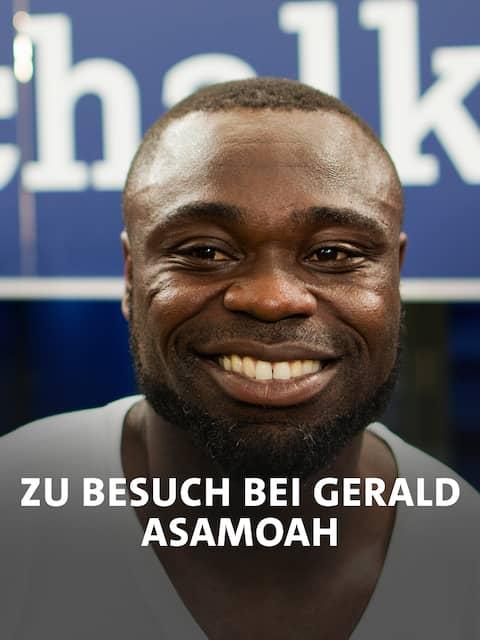 Zu Besuch bei Gerald Asamoah