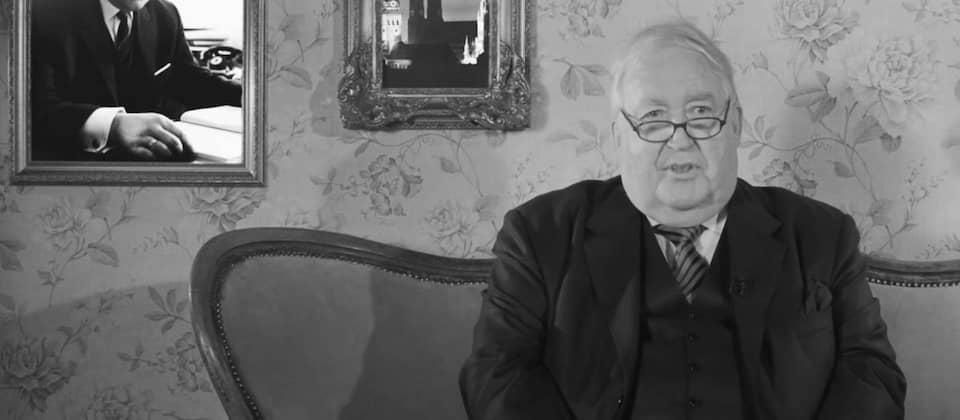 Prof. Dr. h.c. Albert Scharf im Interview: Ehemaliger Intendant des BR | BR Geschichte(n) | Bild: Bayerischer Rundfunk (via YouTube)
