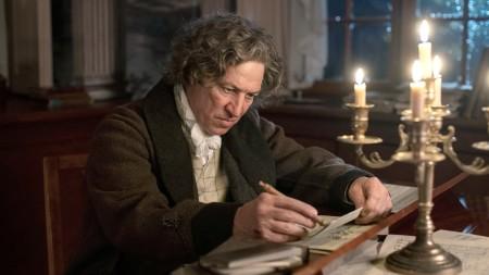 Ludwig van Beethoven (Tobias Moretti) komponiert trotz seiner Taubheit.