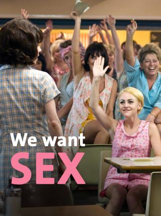 "Sally Hawkins als Rita O'Grady in ""We want Sex"""