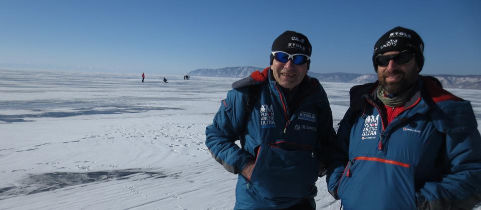 Wolfgang und Jörn auf der Suche nach abenteuerlichen Herausforderungen in Sibirien