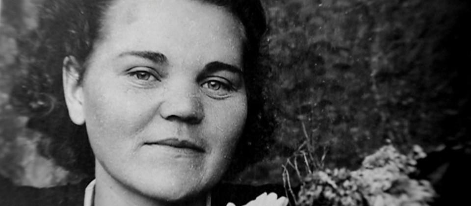 Die russische Zwangsarbeiterin Matronja Kalitta