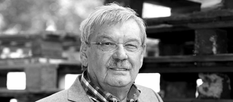 Der Schauspieler Wolfgang Winkler