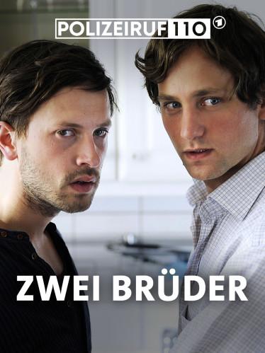 """Filmplakat """"Polizeiruf 110: Zwei Brüder"""" (Quelle: rbb/Oliver Feist)"""