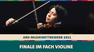 Seiji Okamoto spielt Violine beim ARD-Musikwettbewerb 2021