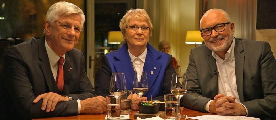 Christian Knauer, Herta Daniel und Andreas Bönte