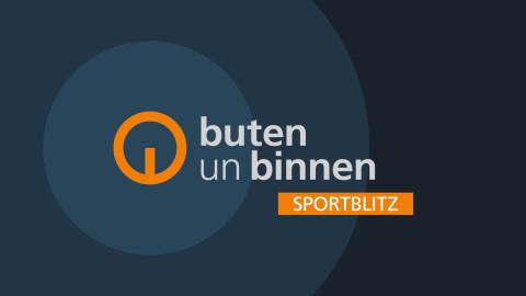 Logo mit Schriftzug: buten un binnen Sportblitz