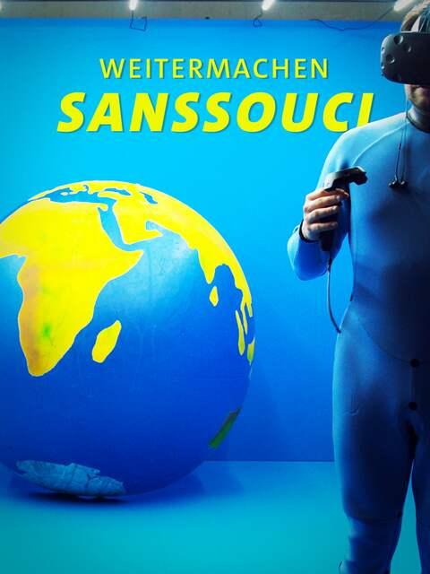 Weitermachen Sanssouci