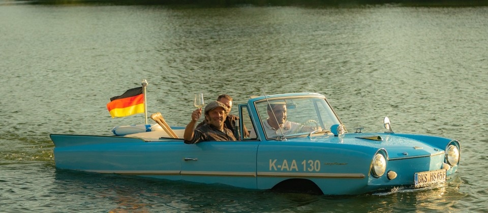Schmidt Max schwimmt im Moselwein