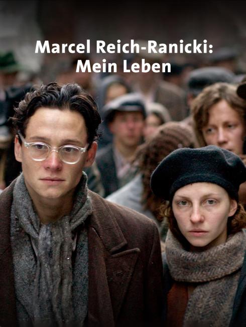 Filmszene: Marcel Reich-Ranicki mit seiner Fau