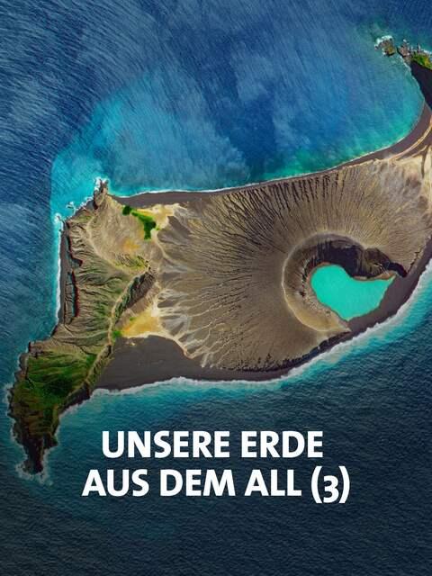 Die südpazifische Vulkaninsel Hunga Tonga in einer Satellitenaufnahme