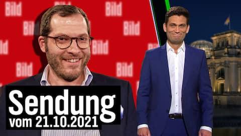 Ex-Bild-Chef Julian Reichelt und Christian Ehring