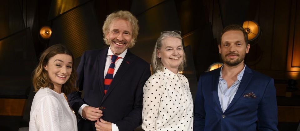 Johanna Adorján, Thomas Gottschalk, Marlene Streeruwitz und Friedemann Karig.
