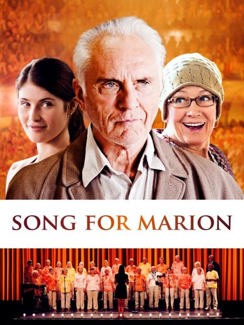"""Gemma Arterton, Terence Stamp und Vanessa Redgrave auf dem Filmplakat zu """"Song for Marion"""""""