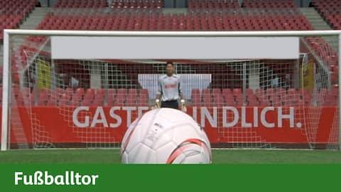 Fußballtor - Maus
