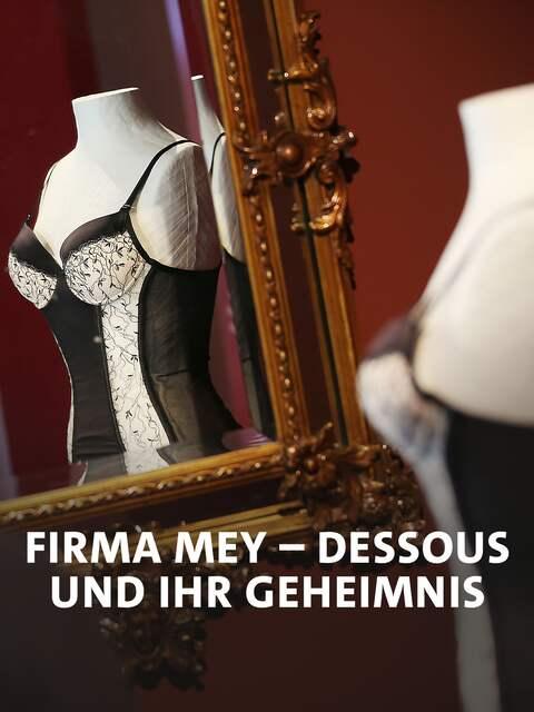 """Ausstellung """"Wenn die Hüllen fallen - Dessous"""", Korsett auf Puppe und in Spiegel"""