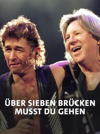 Peter Maffay und Herbert Dreilich auf der Bühne