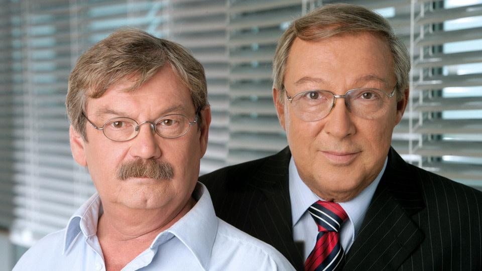 Polizeiruf-Duo: Wolfgang Winkler und Jaecki Schwarz