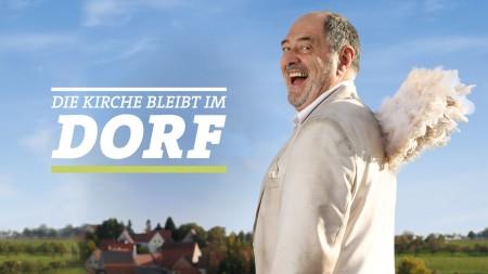 """Sendungscover der Serie """"Die Kirche bleibt im Dorf"""""""