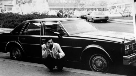 A.R.Penck in Dresden kurz vor der Übersiedlung in die BRD, 1980 (Bild: rbb)