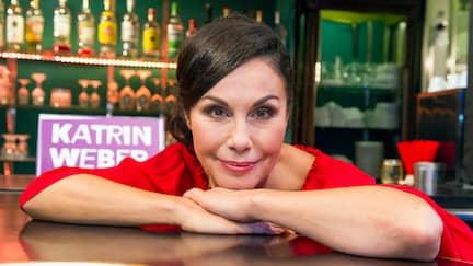 Die Entertainerin Katrin Weber
