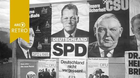 ARD Retro Bundestagswahl 1965