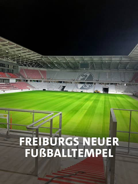 Freiburgs neuer Fußballtempe