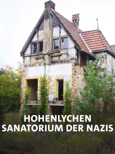 Verfallenes Gebäude des ehem. Sanatoriums Hohenlychen