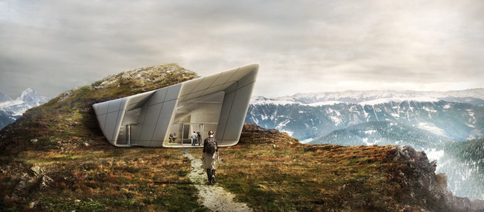 Reinhold Messner und Zaha Hadid bauen ein Museum