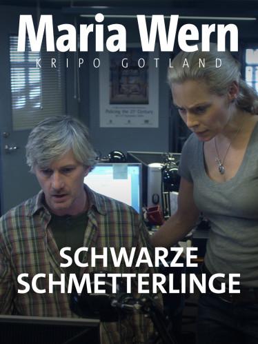 Inspektorin Maria Wern (Eva Röse, Mitte) und ihr Kollege Arvidsson (Peter Perski).