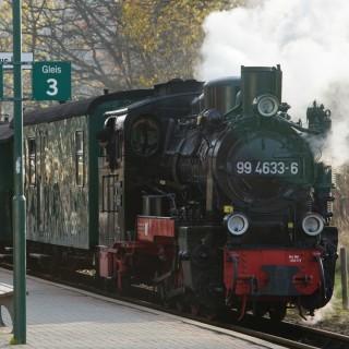 Schalspurbahn Rasender Roland auf Rügen