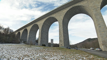 Autobahnbrücke Pirk