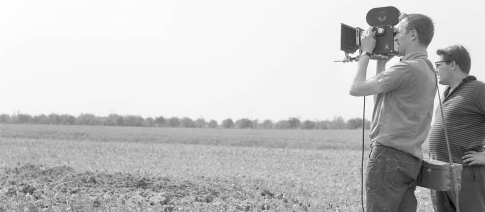 Prisma-Kamerateam des DFF auf Feld