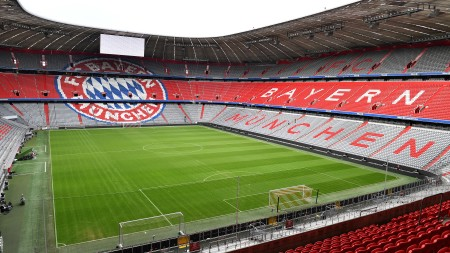 Leere Allianz Arena