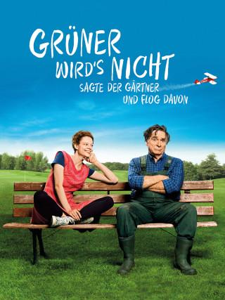 Emma Bading und Elmar Wepper sitzen auf einer Bank